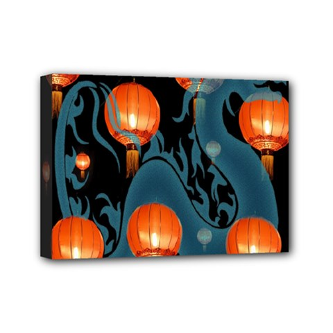 Lampion Mini Canvas 7  x 5