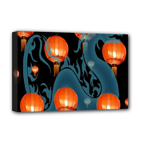Lampion Deluxe Canvas 18  x 12