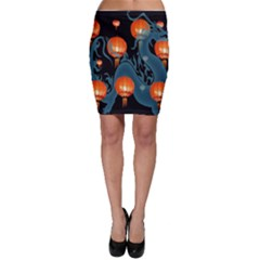 Lampion Bodycon Skirt