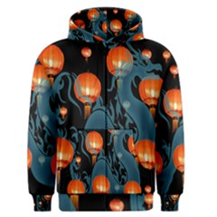 Lampion Men s Zipper Hoodie