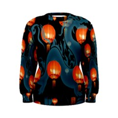 Lampion Women s Sweatshirt