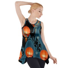 Lampion Side Drop Tank Tunic
