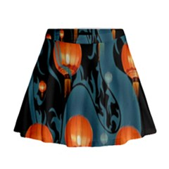 Lampion Mini Flare Skirt