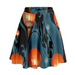 Lampion High Waist Skirt