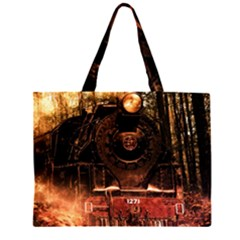 Locomotive Large Tote Bag