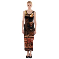 Locomotive Fitted Maxi Dress