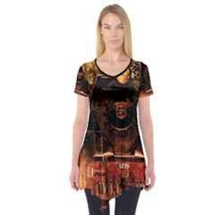 Locomotive Short Sleeve Tunic