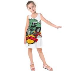 Monster Kids  Sleeveless Dress