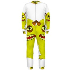 Monster Troll Halloween Shudder  OnePiece Jumpsuit (Men)