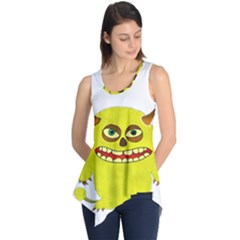 Monster Troll Halloween Shudder  Sleeveless Tunic