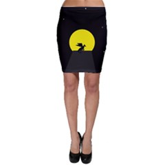 Moon And Dragon Dragon Sky Dragon Bodycon Skirt