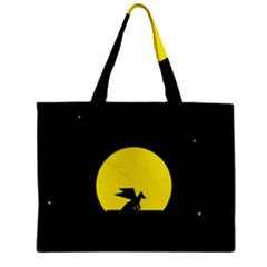 Moon And Dragon Dragon Sky Dragon Zipper Mini Tote Bag