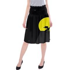 Moon And Dragon Dragon Sky Dragon Midi Beach Skirt
