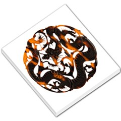 Ornament Dragons Chinese Art Small Memo Pads