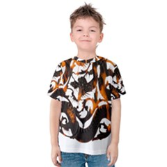 Ornament Dragons Chinese Art Kids  Cotton Tee