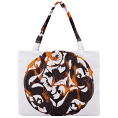Ornament Dragons Chinese Art Mini Tote Bag