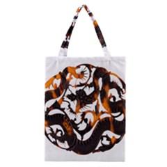 Ornament Dragons Chinese Art Classic Tote Bag