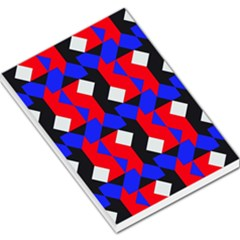 Pattern Abstract Artwork Large Memo Pads