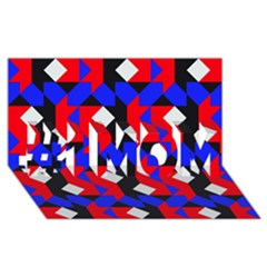 Pattern Abstract Artwork #1 MOM 3D Greeting Cards (8x4)