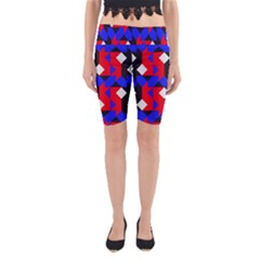 Pattern Abstract Artwork Yoga Cropped Leggings
