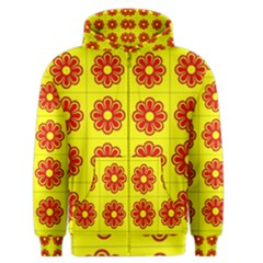 Pattern Design Graphics Colorful Men s Zipper Hoodie