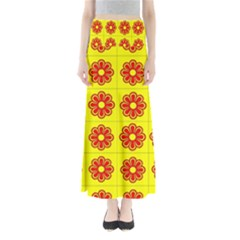 Pattern Design Graphics Colorful Maxi Skirts