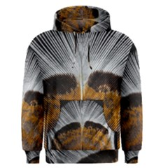 Spring Bird Feather Turkey Feather Men s Pullover Hoodie