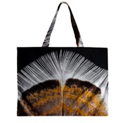 Spring Bird Feather Turkey Feather Large Tote Bag