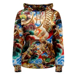 Thailand Bangkok Temple Roof Asia Women s Pullover Hoodie
