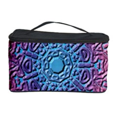 Tile Background Pattern Texture Cosmetic Storage Case