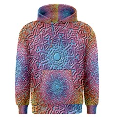 Tile Background Pattern Texture Men s Pullover Hoodie