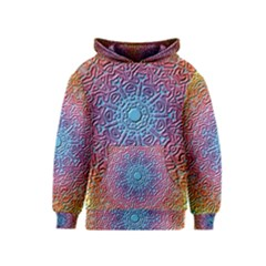 Tile Background Pattern Texture Kids  Pullover Hoodie
