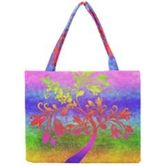 Tree Colorful Mystical Autumn Mini Tote Bag