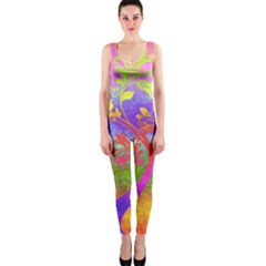 Tree Colorful Mystical Autumn OnePiece Catsuit
