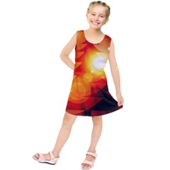 Tree Trees Silhouettes Silhouette Kids  Tunic Dress