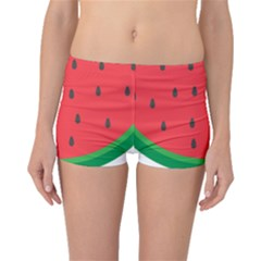 Watermelon Fruit Boyleg Bikini Bottoms