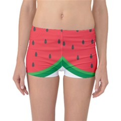 Watermelon Fruit Reversible Boyleg Bikini Bottoms