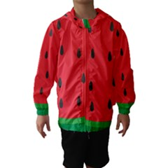 Watermelon Fruit Hooded Wind Breaker (Kids)
