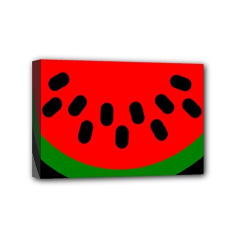 Watermelon Melon Seeds Produce Mini Canvas 6  x 4