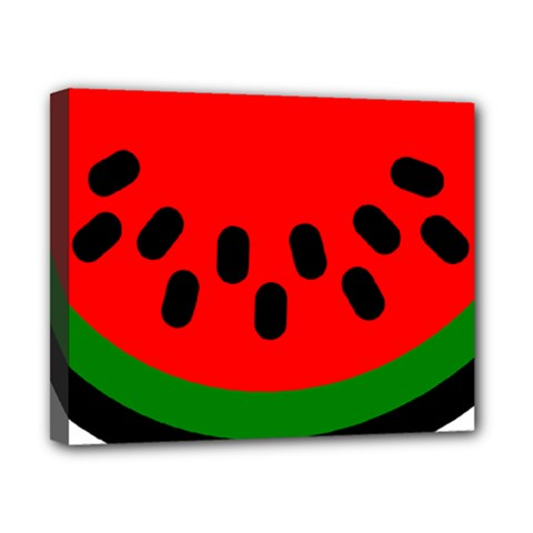 Watermelon Melon Seeds Produce Canvas 10  x 8