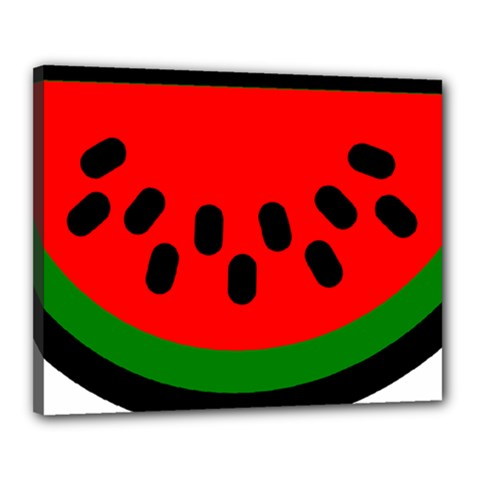 Watermelon Melon Seeds Produce Canvas 20  x 16