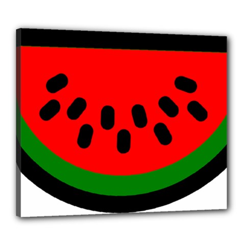 Watermelon Melon Seeds Produce Canvas 24  x 20