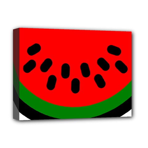 Watermelon Melon Seeds Produce Deluxe Canvas 16  x 12