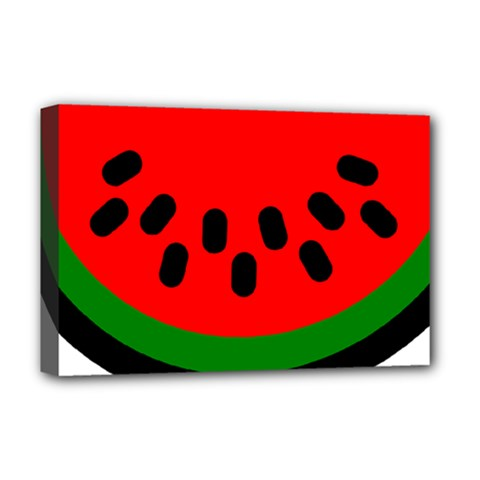 Watermelon Melon Seeds Produce Deluxe Canvas 18  x 12