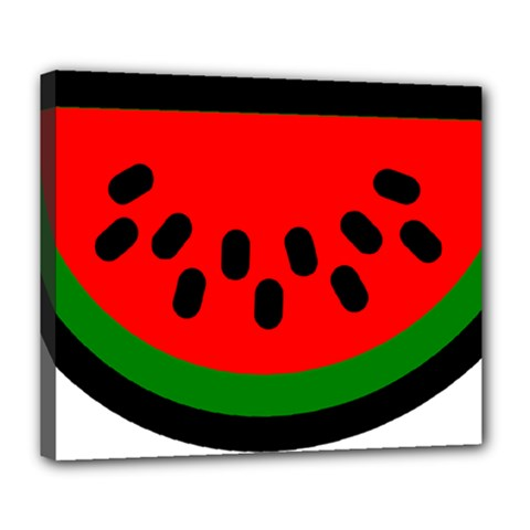 Watermelon Melon Seeds Produce Deluxe Canvas 24  x 20