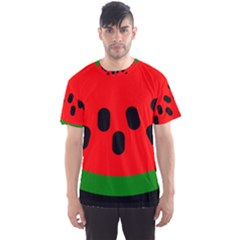 Watermelon Melon Seeds Produce Men s Sport Mesh Tee