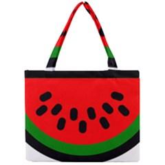 Watermelon Melon Seeds Produce Mini Tote Bag