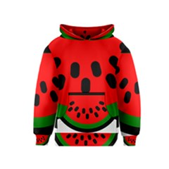 Watermelon Melon Seeds Produce Kids  Pullover Hoodie