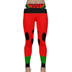 Watermelon Melon Seeds Produce Classic Yoga Leggings