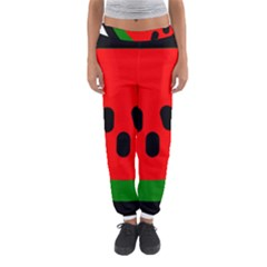 Watermelon Melon Seeds Produce Women s Jogger Sweatpants